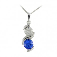 5. Náhrdelník Sisi Sapphire